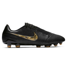 Nike Phantom Venom Elite Mens Football Boots Black / Gold US Mens 7 / Womens 8.5, Black / Gold, rebel_hi-res