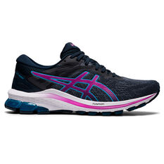Asics GT 1000 10 D Womens Running Shoes Blue/Purple US 6, Blue/Purple, rebel_hi-res