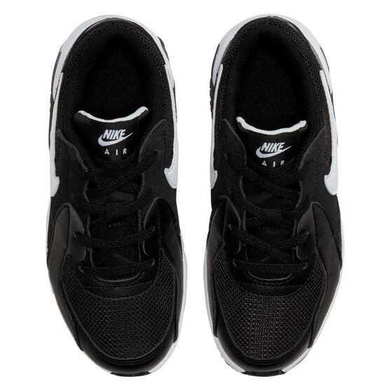 Nike Air Max Excee Kids Casual Shoes, Black/White, rebel_hi-res