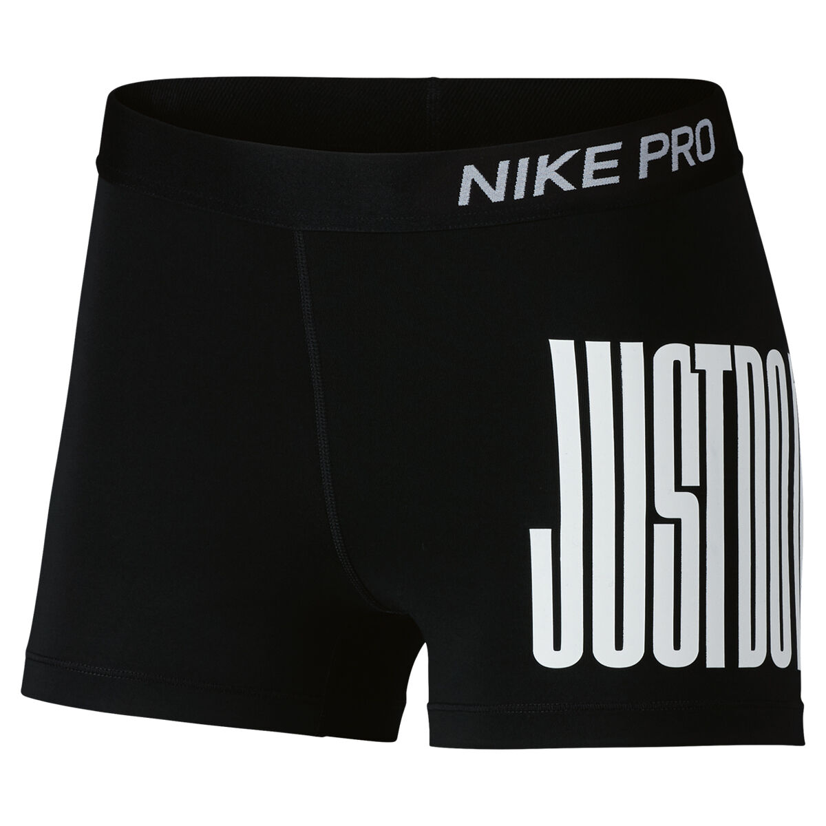 Nike Womens Pro Just Do It 3in Shorts
