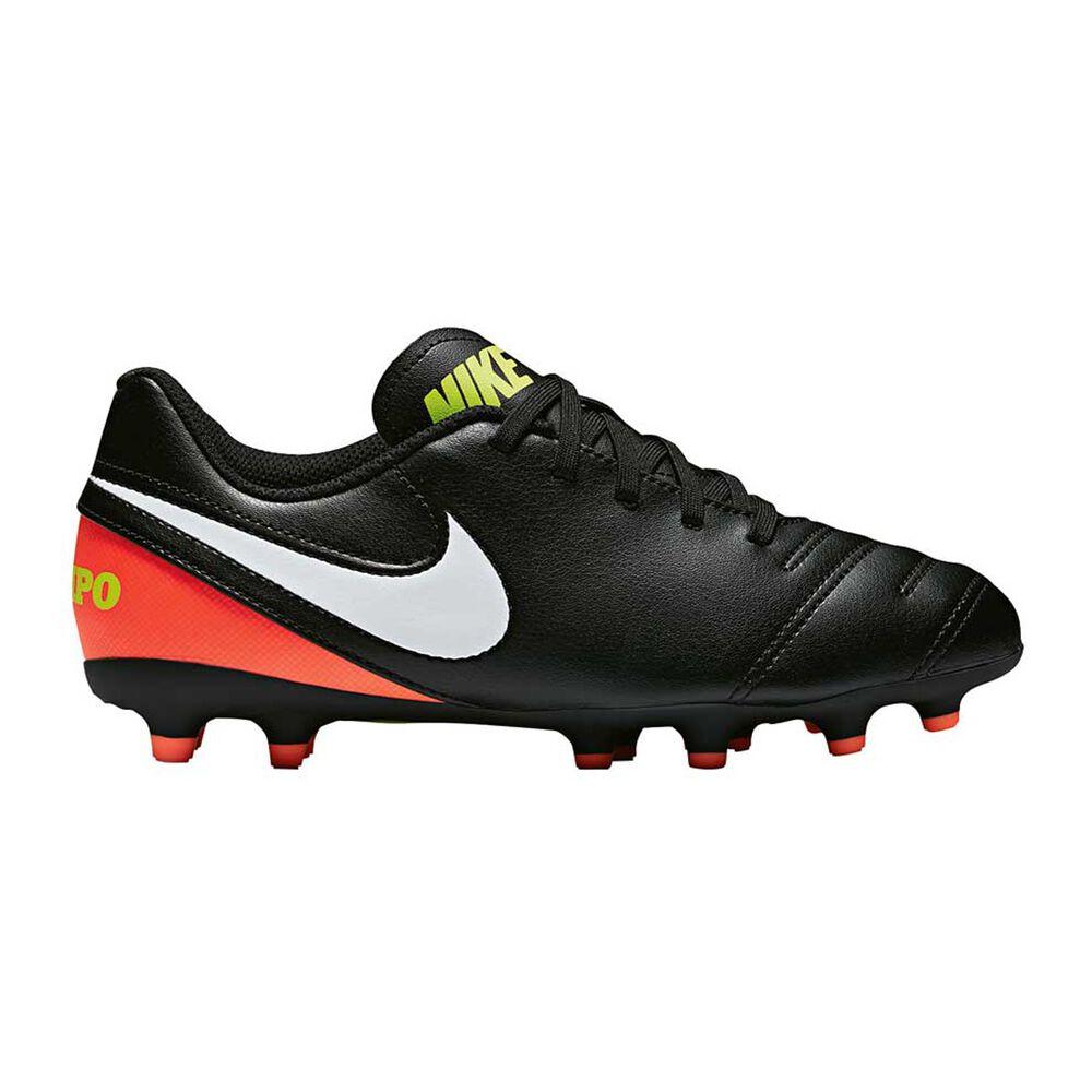 aa4d05d90 Nike Tiempo Rio III Junior Football Boots Black / White US 2 Junior, Black /