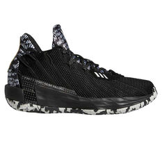 adidas Dame 7 Mens Basketball Shoes Black/Silver US 7, Black/Silver, rebel_hi-res
