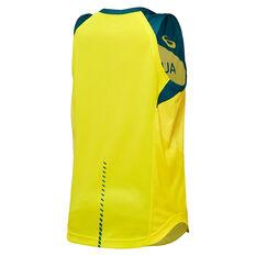 Asics Kids Boomers 2021 Jersey Yellow 8, Yellow, rebel_hi-res