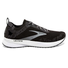 Brooks Levitate 4 Mens Running Shoes Black/White US 8, Black/White, rebel_hi-res