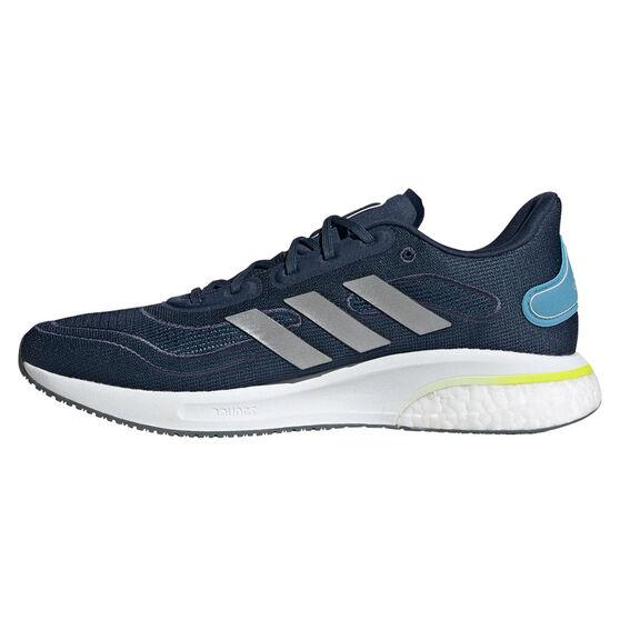 adidas Supernova Mens Running Shoes, Blue/Silver, rebel_hi-res