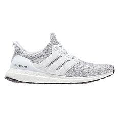 adidas Ultraboost Mens Running Shoes White / Grey US 7, White / Grey, rebel_hi-res