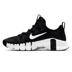 Nike Free Metcon 3 Womens Training Shoes Black/White US 6, Black/White, rebel_hi-res