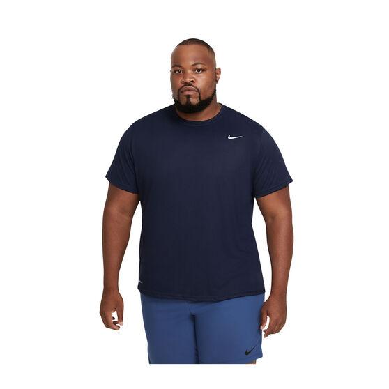 Nike Mens Legend Poly  2.0 Training Tee, Black, rebel_hi-res