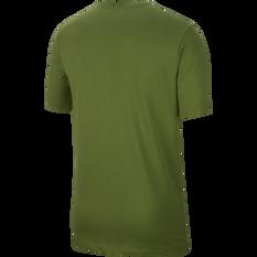 Nike Mens Sportswear Tee Green XS, Green, rebel_hi-res
