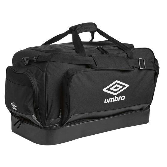 Umbro Medium Hardbase Holdall Bag Black / White, , rebel_hi-res