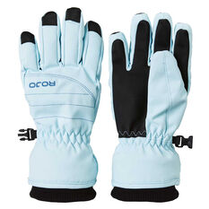 Rojo Girls New Icon Gloves Turquoise 4, Turquoise, rebel_hi-res
