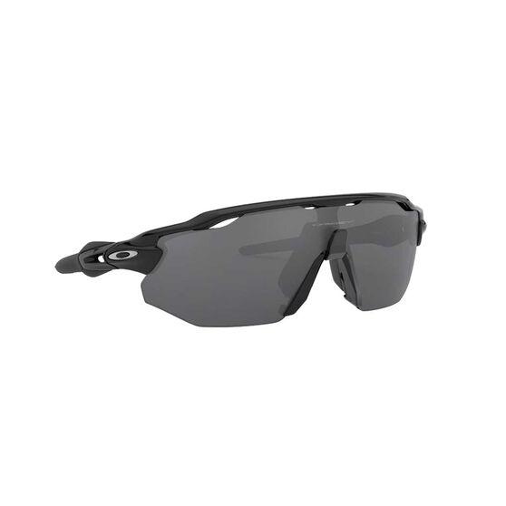 Oakley Radar EV Advancer Sunglasses Polished Black / Prizm Black Polarized, Polished Black / Prizm Black Polarized, rebel_hi-res