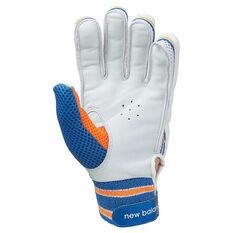 New Balance Junior DC 380 Cricket Gloves Blue Youth RH, Blue, rebel_hi-res