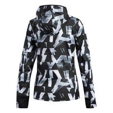 adidas Womens Own the Run Speed Jacket White XS, White, rebel_hi-res