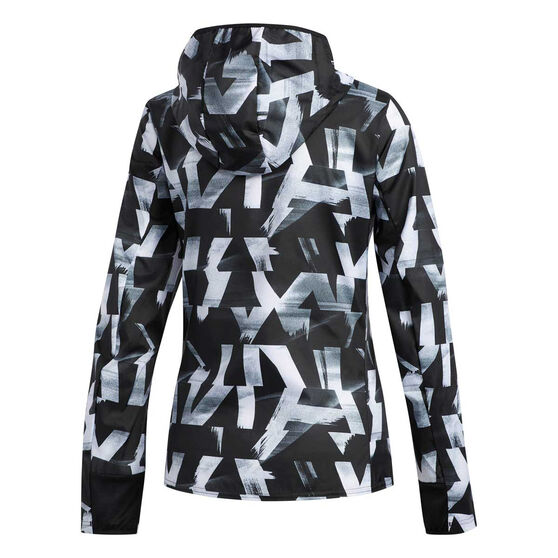 adidas Womens Own the Run Speed Jacket, White, rebel_hi-res