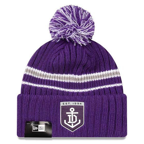 Fremantle Dockers New Era Cuff Knit Beanie, , rebel_hi-res