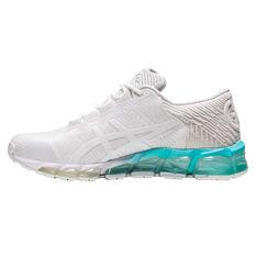 Asics GEL Quantum 360 5 Jacquard Womens Training Shoes White/Mint US 6, White/Mint, rebel_hi-res