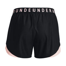 Under Armour Womens Play Up 3.0 Shorts Black XS, Black, rebel_hi-res