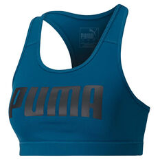 Puma Womens Essentials 4Keeps Sports Bra Blue XS, Blue, rebel_hi-res