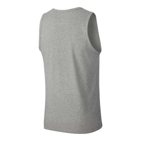 Nike Mens Sportswear Club Tank Grey S, Grey, rebel_hi-res