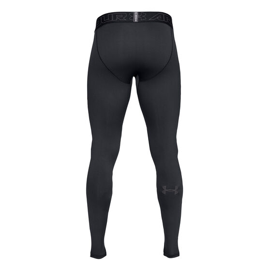 Under Armour ColdGear Mens Compression Tights, Black, rebel_hi-res