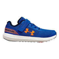 Under Armour UA Surge Junior Running Shoes Blue / White US 11, Blue / White, rebel_hi-res