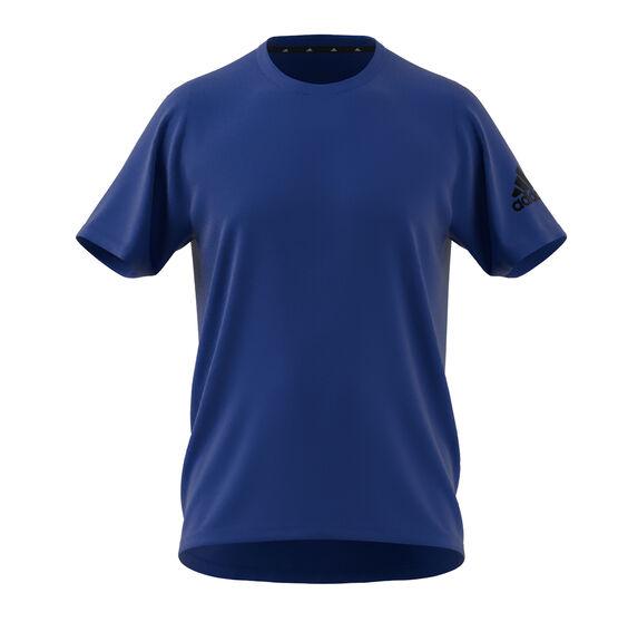 adidas Mens FreeLift Ultimate Tee, Blue, rebel_hi-res