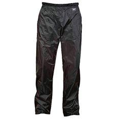 Team Stolite Waterproof Rain Trousers Black S Adult, Black, rebel_hi-res