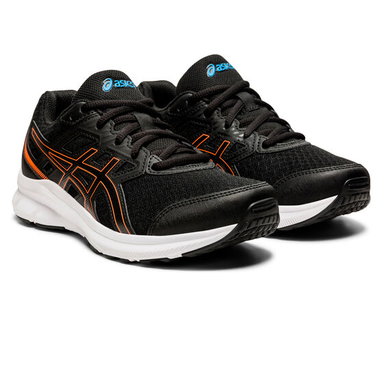 Asics Jolt 3 Kids Running Shoes, Black/Blue, rebel_hi-res