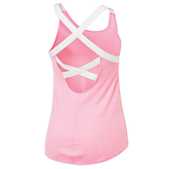 Nike Womens Dri FIT Training Tank, Pink, rebel_hi-res