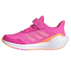 adidas EQ21 Run Kids Running Shoes Pink/White US 11, Pink/White, rebel_hi-res