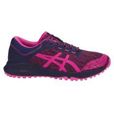 Asics Alpine XT Womens Trail Running Shoes Pink / Purple US 8, Pink / Purple, rebel_hi-res