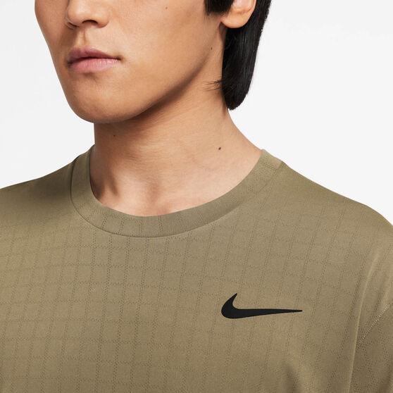 NikeCourt Breathe Mens Slam Tee, Beige, rebel_hi-res