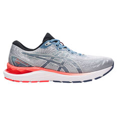 Asics GEL Cumulus 23 Celebration of Sport Mens Running Shoes Grey/Blue US 7, Grey/Blue, rebel_hi-res