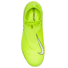 Nike Phantom Vision Elite Dynamic Fit Kids Football Boots, Green / White, rebel_hi-res