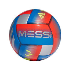 adidas Messi Capitano Soccer Ball Blue / Red 3, Blue / Red, rebel_hi-res