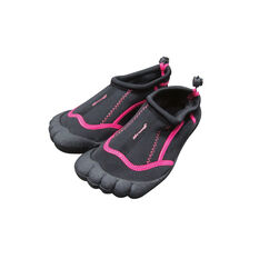 Seven Mile Kids Aqua Reef Shoe Black / Pink UK 10, Black / Pink, rebel_hi-res