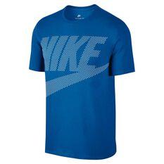 Nike Mens Sportswear Tee Blue S, Blue, rebel_hi-res