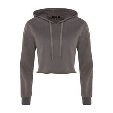 L'urv Womens Coming Home Hoodie Brown XS, Brown, rebel_hi-res