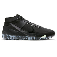 Nike KD13 Mens Basketball Shoes Black/Grey US 7, Black/Grey, rebel_hi-res