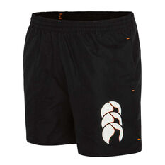 Canterbury Mens Tactic Shorts Black S, Black, rebel_hi-res