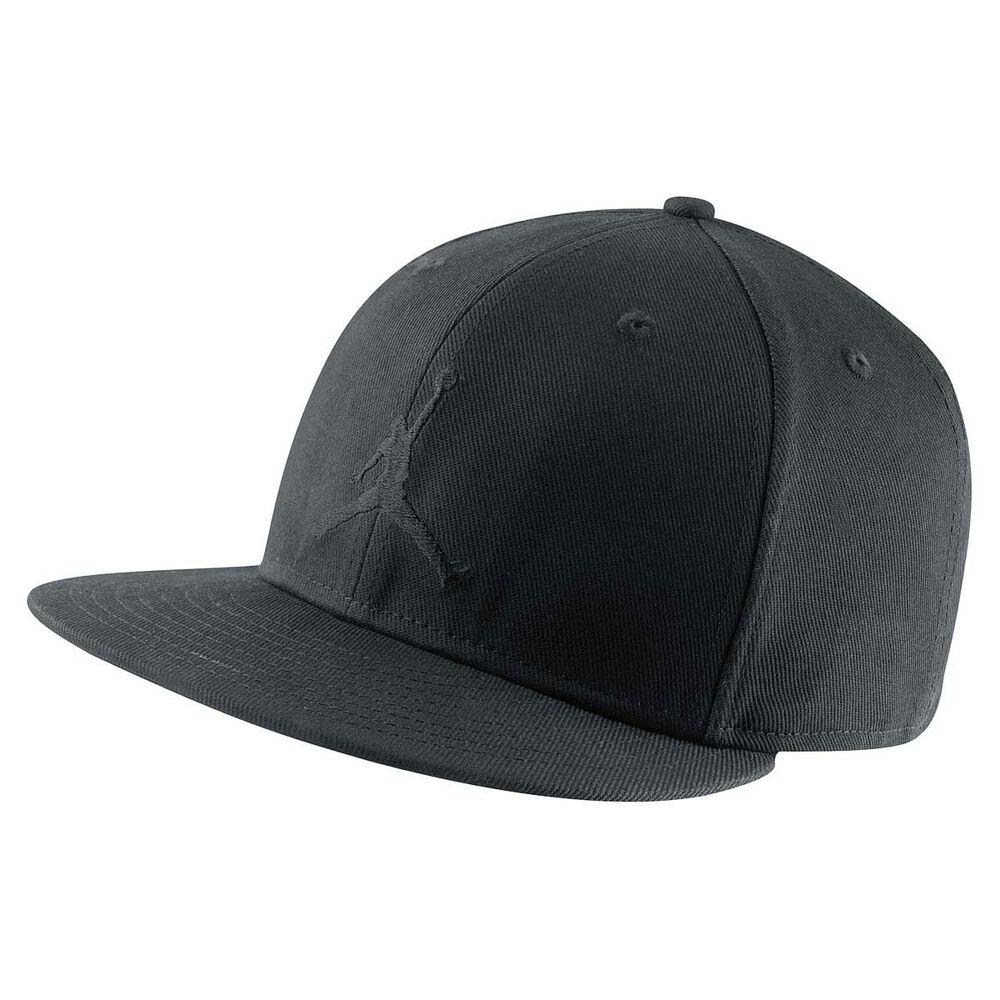 26491689c16 Nike Mens Jordan Jumpman Cap Black L Adults