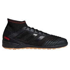 adidas Predator Tango 19.3 Mens Indoor Soccer Shoes Black / Red US 7, Black / Red, rebel_hi-res