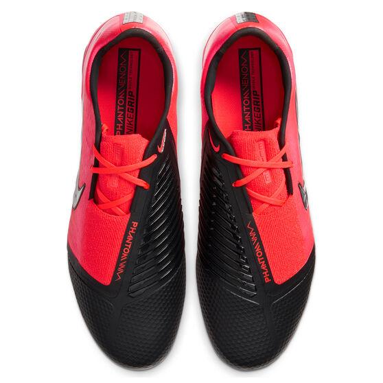 Nike Phantom Venom Elite Football Boots, Black / Red, rebel_hi-res