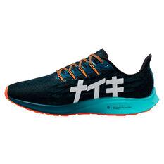 Nike Air Zoom Pegasus 36 Hakone Mens Running Shoes Black / White US 7, Black / White, rebel_hi-res