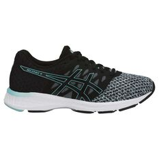 Asics GEL Exalt 4 Womens Running Shoes Black / Grey US 6, Black / Grey, rebel_hi-res