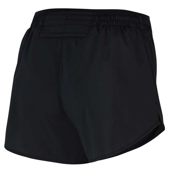 Nike Womens Icon Clash Tempo Luxe Running Shorts, Black, rebel_hi-res