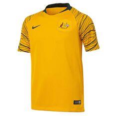 Socceroos 2018 Kids Home Football Jersey, , rebel_hi-res