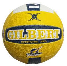Gilbert Sunshine Coast Lightning Training Netball Multi 5, , rebel_hi-res