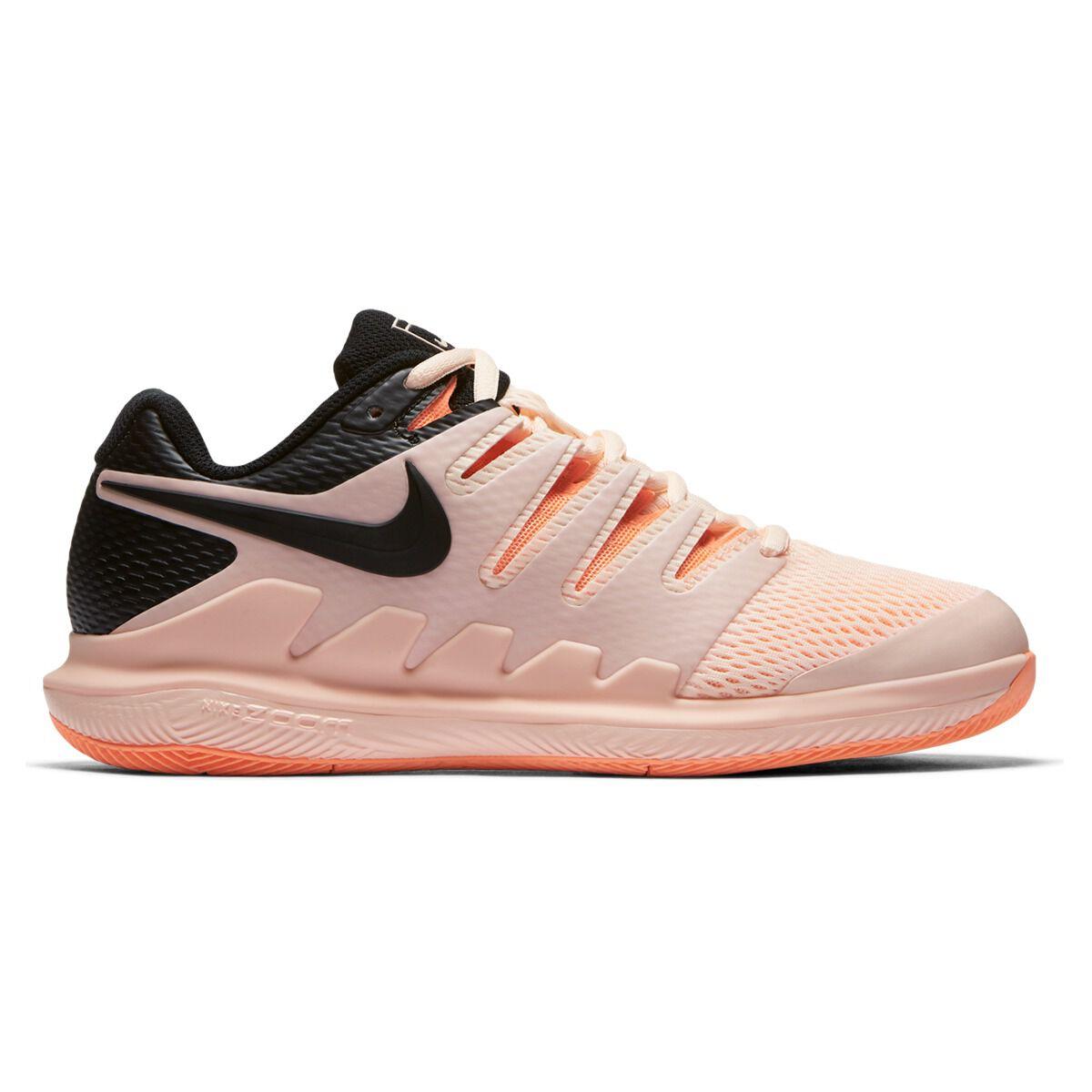 Nike Air Zoom Vapor X Womens Tennis Shoes Orange Black US 11